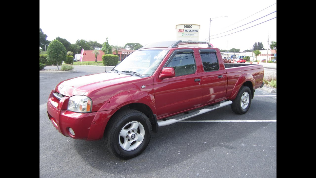 sold 2002 nissan frontier crew long bed 2wd meticulous. Black Bedroom Furniture Sets. Home Design Ideas