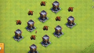 Lava Tower In Clash Of Clans ? Real or Fake ?  Clash of Clans Private Server |Wolf Gaming|coc attack