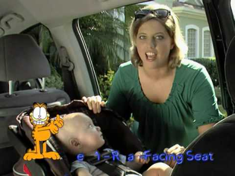 Garfield and AAA : Keep Your Children Safe in the Car