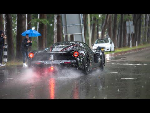 Supercars Accelerating - Centenario, LaFerrari Aperta, Capristo Aventador, 918 Spyder, Milltek RS3