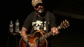 """Rooster"" Aaron Lewis of Staind@Sovereign Performing Arts Center Reading, PA 2/15/13"