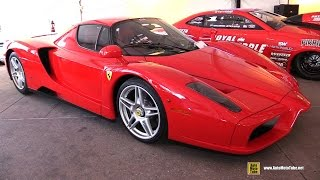 2002 Ferrari Enzo - Exterior and Interior Walkaround - 2014 LA Auto Show