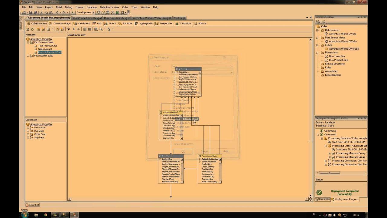 SQL Server 2008 OLAP Cube