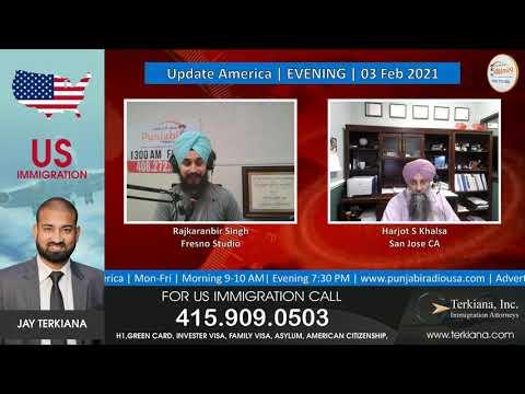 Update America Evening 03 Feb 2021