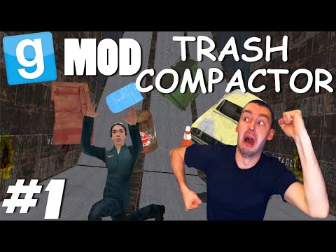 Garry's Mod: Trash Compactor #1   Mordercze śmieci