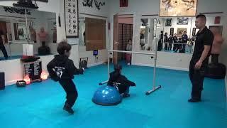 Kung Fu Kids - Bouncing High Jump Challenge