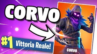 REAL VITTORY with CORVO (New Legendary Skin) on FORTNITE