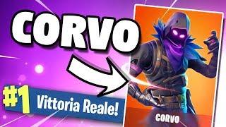 REAL VITTORY with CORVO (New Legendary Skin) on FORTNITE