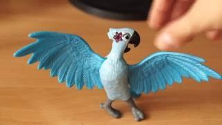 Детская игрушка светящийся попугай, обзор