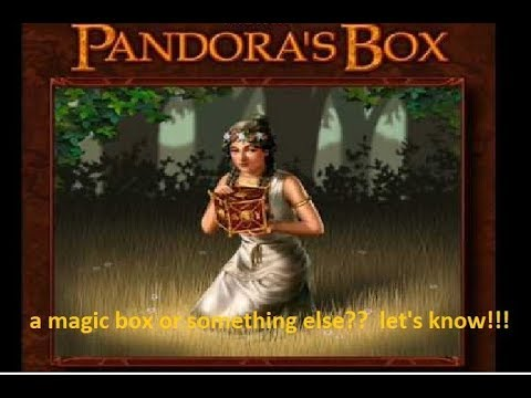 Pandora's box, let's know its actual meaning. - YouTube