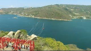 Tirolesa Xtasea Acapulco 2017