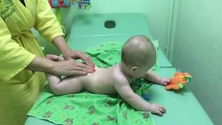 """Массаж малышу"", 3 видео."