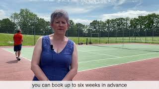 Our tennis courts in Ashurst Wood are the first in Mid Sussex to use unique electronic codes as p...
