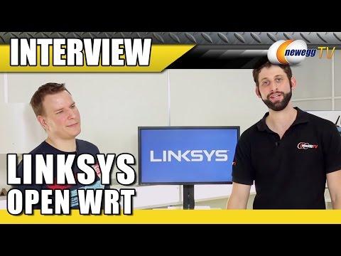 Linksys Open WRT Interview - Newegg TV