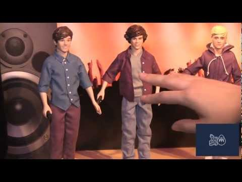 One Direction Singing Dolls - 2013 New York Toy Fair - The Toy Spy