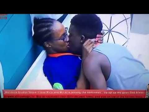 Download Anto and lolu's kiss #Big brother naija