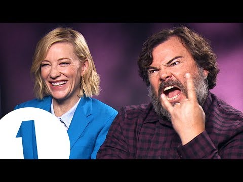 """You fell in a gopher hole!"": Cate Blanchett & Jack Black answer stupid questions"