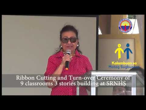 Turn Over Ceremony Of School Building YouTube