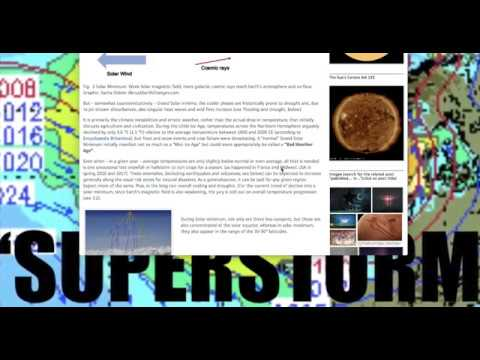 Grand Solar Minimum and UVC / Earth Changes - Crops (food) - Weather Records