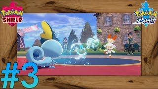 Pokemon Sword - Shield - Nintendo Switch - 100% Walkthrough - Gameplay - Part 3