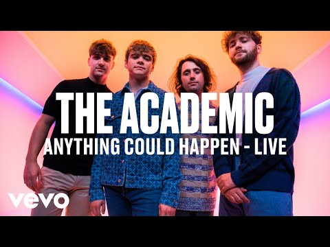 The Academic - Anything Could Happen (Live) Vevo DSCVR
