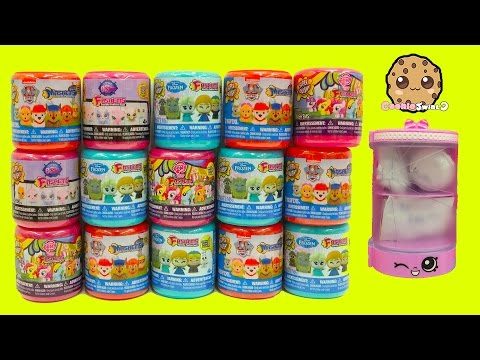 15 Super Squishy Fashems + Mashems Surprise Blind Bags - Disney Frozen ,  My Little Pony  LPS + More