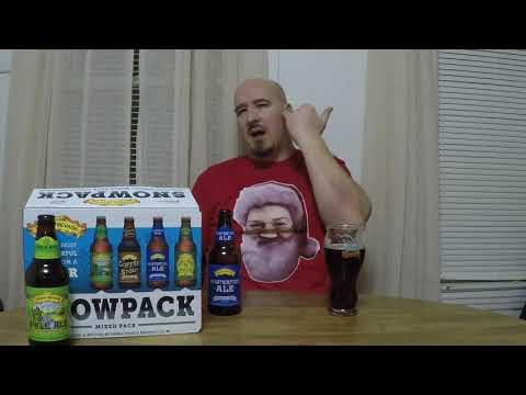 Sierra Nevada Snowpack 2017 variety pack beer review