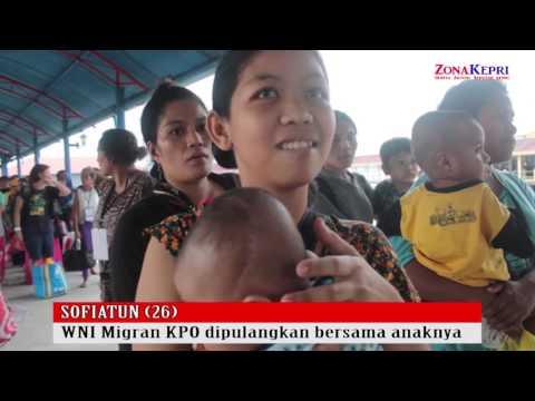 360 WNI Migran Korban Perdagangan Orang (KPO) Di Deportase dari Malaysia