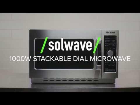 Solwave Stackable Dial Microwave