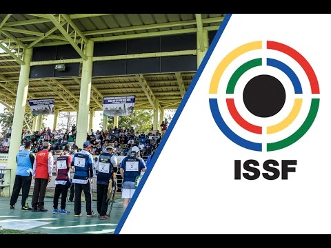 Trap Men Final - 2017 ISSF World Cup Stage 1 in New Delhi (IND)