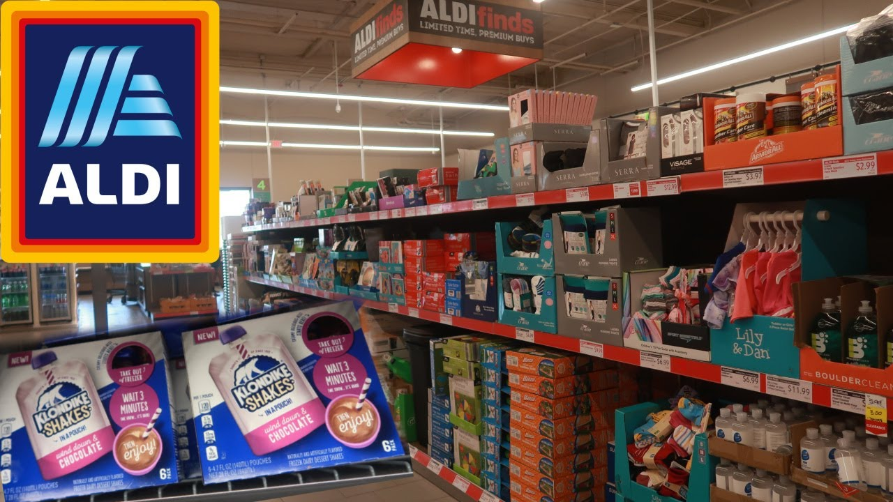 ALDI GROCERY STORE/ BROWSE WITH ME