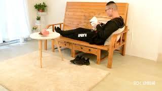 접이식 트랜스포머 침대 원목 나무 건강 침대 쇼파