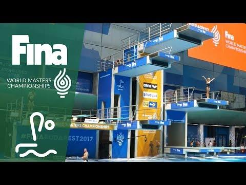 LIVE - Diving Day 4: Platform   FINA World Masters Championships 2017 - Budapest