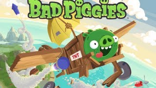 Angry Birds - Bad Piggies GAMEPLAY (iPhone iPod Touch iPad)