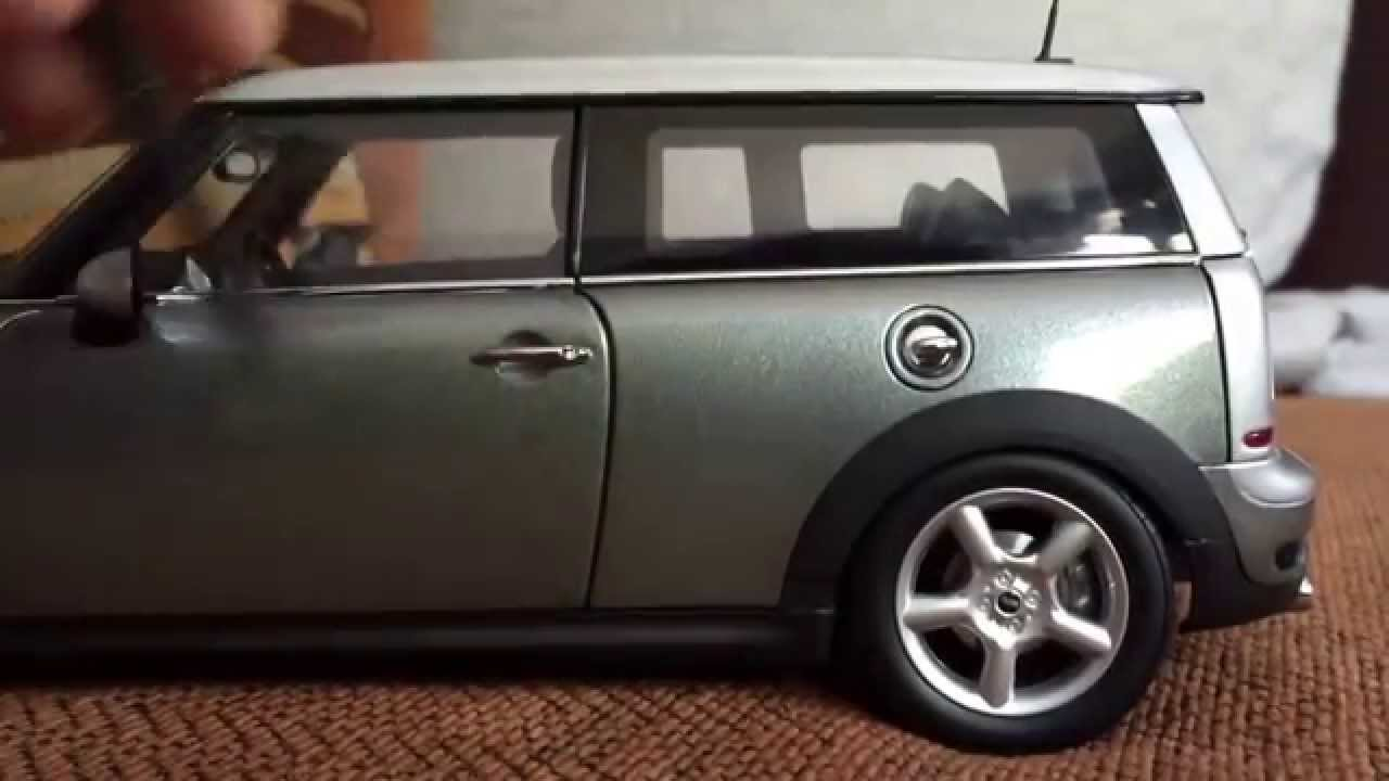 mini clubman 1 18 kyosho youtube. Black Bedroom Furniture Sets. Home Design Ideas