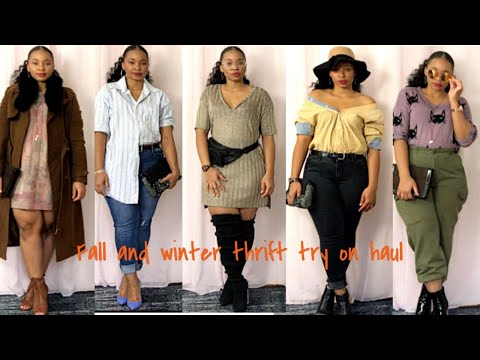 3d73545b17a Sirens And Thrift Try On Haul ( Thick