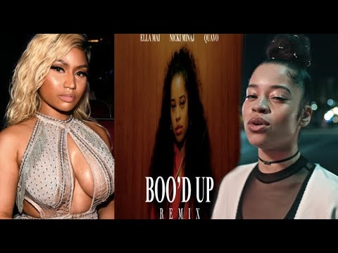 Nicki Minaj DISRESPECTS Ella Mai WIth TRASH Boo'd Up (Remix) Ft.Quavo