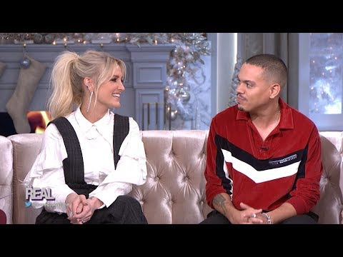 FULL INTERVIEW: Ashlee Simpson Ross and Evan Ross on Touring, and More!