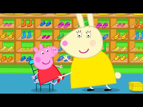 Peppa pig  new shoes for peppa pig English Episodes