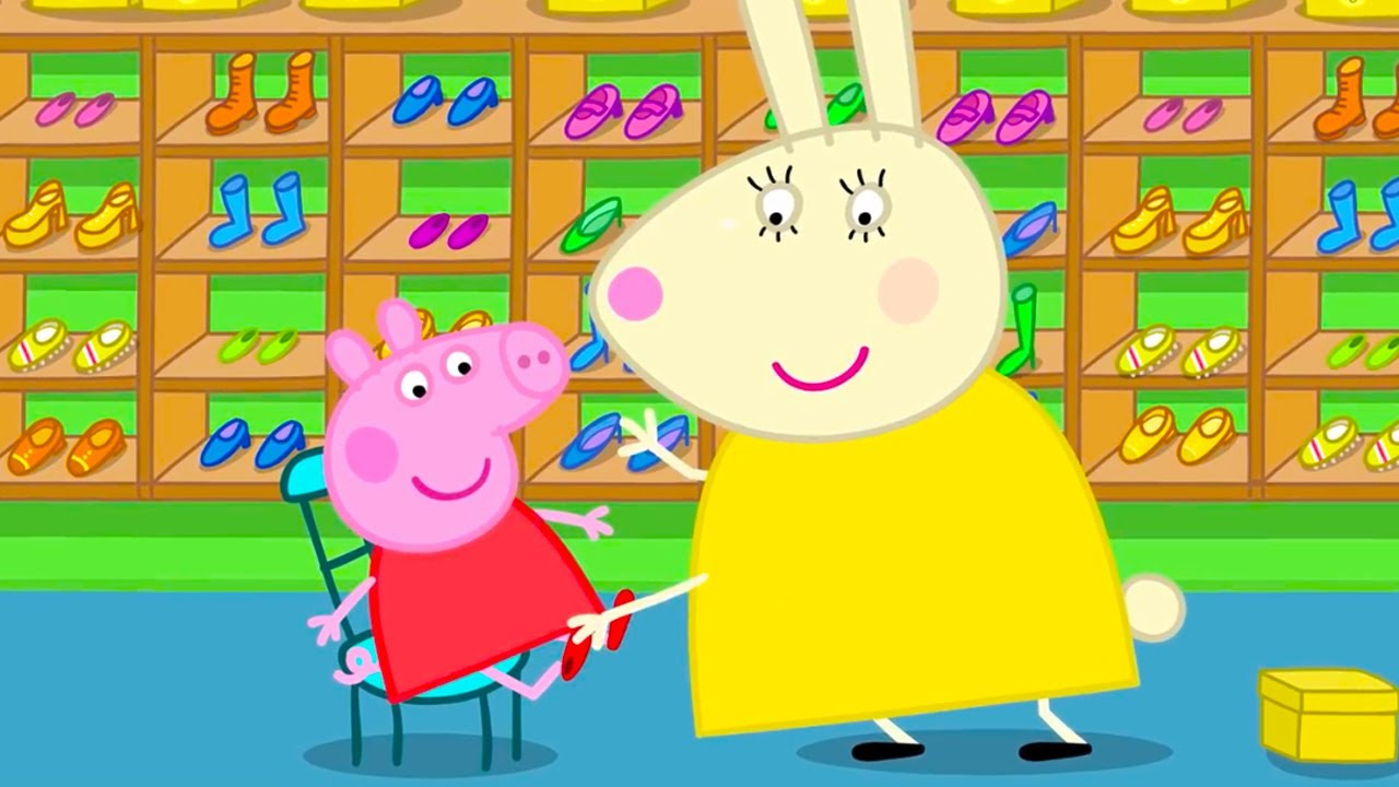 peppa pig new shoes for peppa pig english episodes youtube. Black Bedroom Furniture Sets. Home Design Ideas