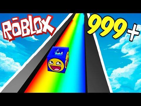 RAINBOW SLIDE 9999+ MPH IN ROBLOX!!!
