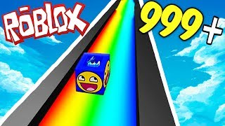 RAINBOW SLIDE 9999+ MPH IN ROBLOX!!!