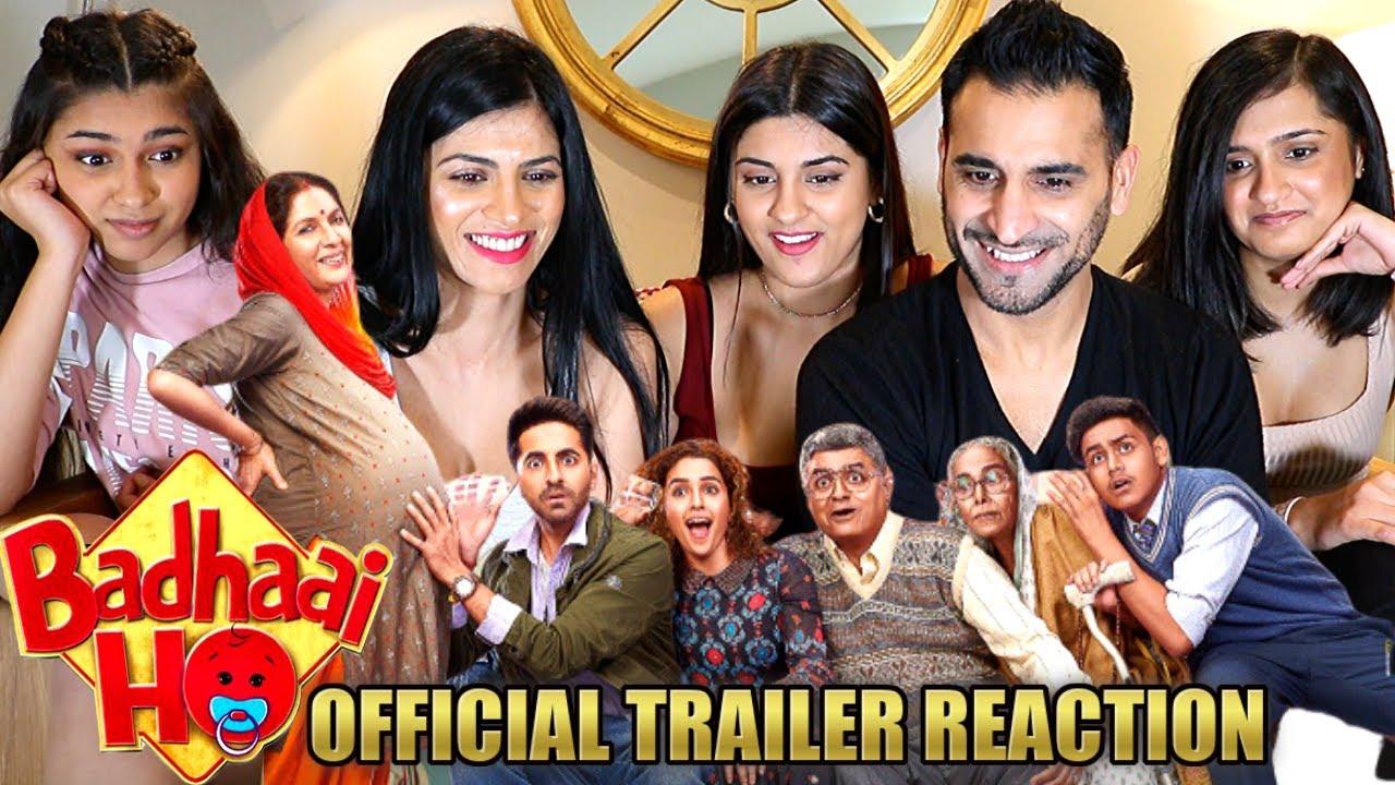 Download BADHAAI HO | Ayushmann Khurrana | Sanya Malhotra | Trailer REACTION & REVIEW