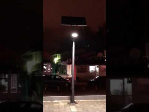 Solar Street Light in Belgrade Serbia by EnGoPlanet