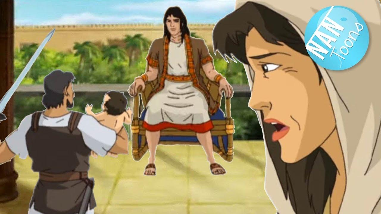 SALOMON pt 2 | Templo de Salomon | Juicio de Salomon | Biblia dibujos animados | Antiguo Testamento