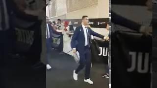 #JuveGenoa   The King Cristiano #Ronaldo has arrived #CR7 #JuveGenoa #ForzaJuve