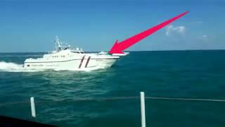 2018 Qatar Navy Ship Going Live Video