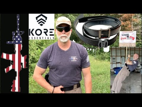 KORE Essentials Gun Belts (KORE to Your Carry) - Conceal Carry, or just Carry.