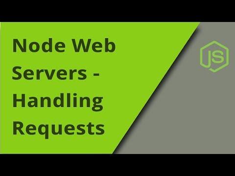NodeJS Web Server - Handling HTTP Requests
