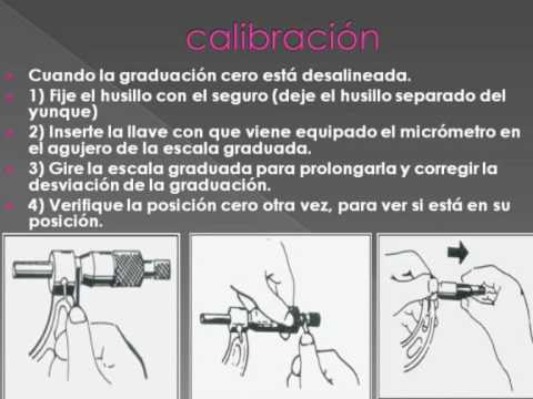 Micrometro para youtube - Micrometro de interiores ...